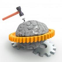 脳にダメージ